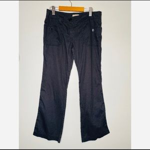 Burberry Blue Cargo Pants Flare Women's Large